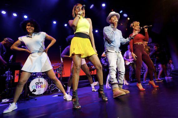Pharrell Champions Women, Noel Clarke Empowers