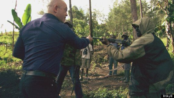 WATCH: Ross Kemp In Dramatic Showdown With Guerrilla Soldiers In Papua New Guinea