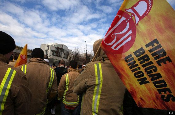 Firefighters Vote To Strike In Row Over
