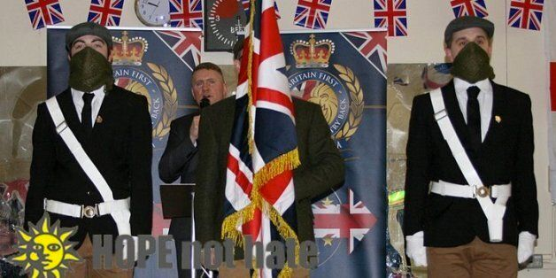 Britain First's Facebook Page Banned For 'Hate Speech'... Then Put Back Just An Hour