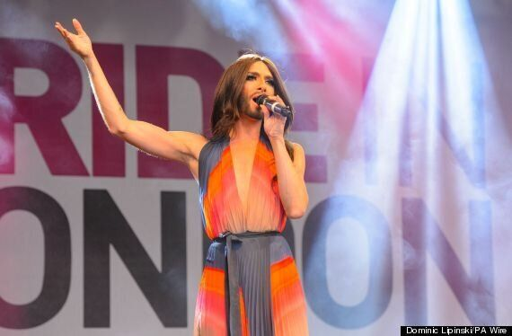 Conchita Wurst Performs at #LondonPride, After Sir Ian McKellan Introduces Her To