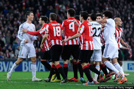 Athletic Bilbao 1-1 Real Marid: Cristiano Ronaldo Controversially Sent Off