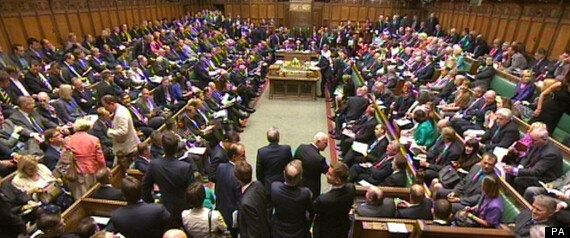 Tory Rebels Vote For War On David