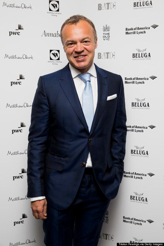 Graham Norton Fails To Turn Up For BBC Radio 2 Show... Was He Partying With Nigella Lawson The Night
