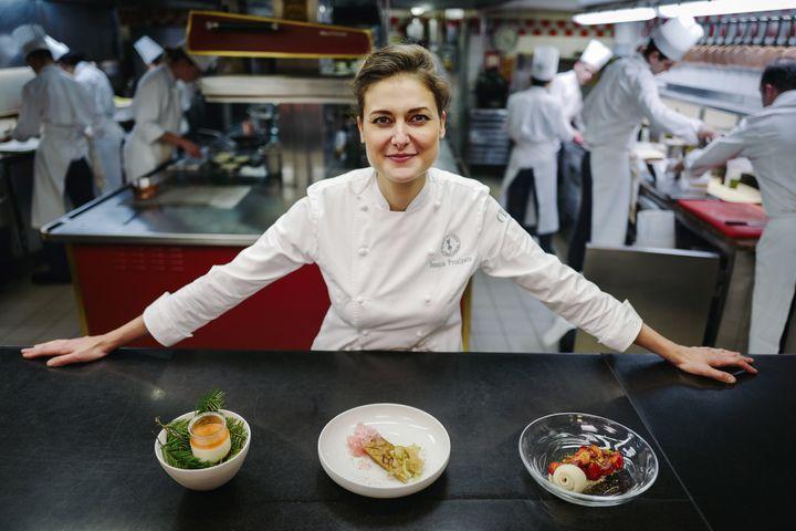"""Jessica Préalpato a été sacrée meilleure pâtissière au monde selon le classement du """"World's 50 Best Restaurants""""."""
