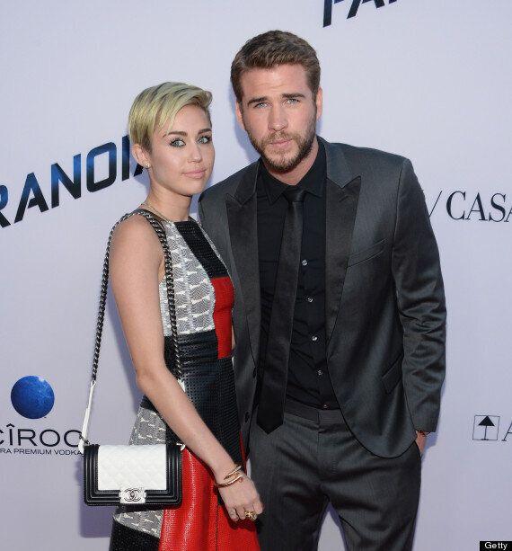 Liam Hemsworth 'Mortified' By Miley Cyrus' VMA