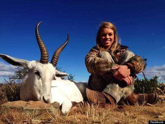 Kendall Jones, Hunter Who Poses With Kills on Facebook, Condemned As 'Sick' (GRAPHIC