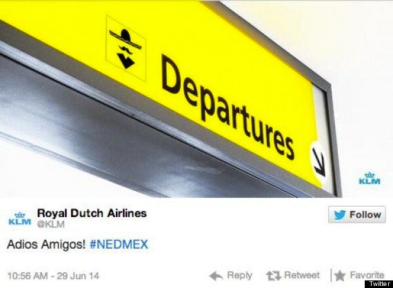 World Cup 2014: KLM Apologises For 'Racist' Tweet After Mexico Defeat