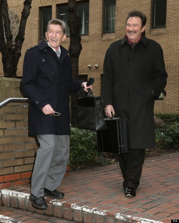 Chuckle Brothers Give Evidence In Court At Dave Lee Travis Trial