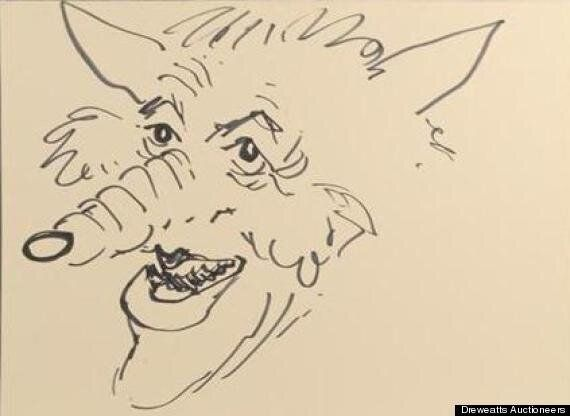 Rolf Harris Portrait Of Jimmy Savile Sold For Thousands At