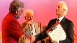 WATCH: Jimmy Savile Greets Rolf 'The Maestro' Harris On Jim'll Fix