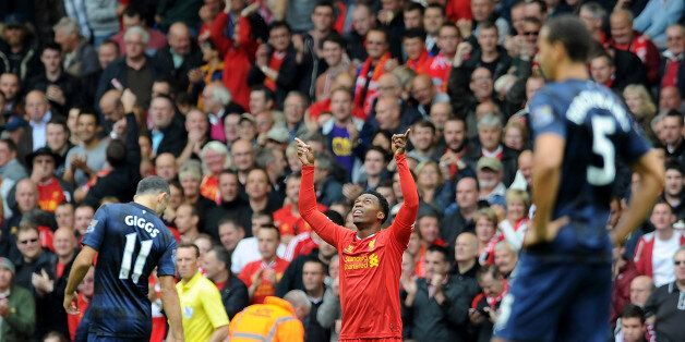 LIVERPOOL, ENGLAND - SEPTEMBER 01: (THE SUN OUT & THE SUN ON SUNDAY OUT) Daniel Sturridge of Liverpool...