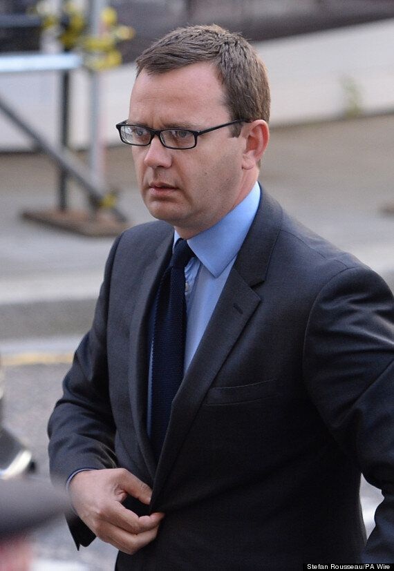 Andy Coulson Blames Lawyers For Not Telling Him Phone Hacking Was A Crime, Old Bailey