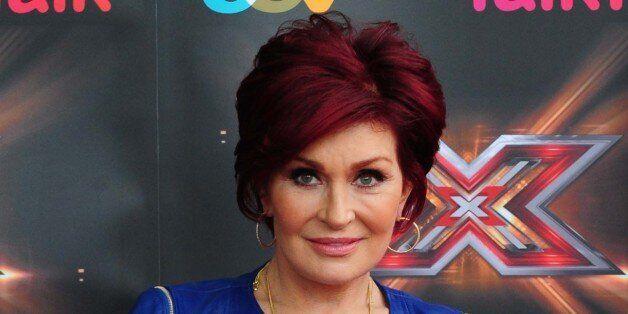 X Factor judge Sharon Osbourne arrives at the ICC,