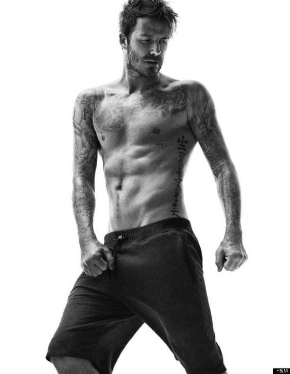 David Beckham Poses In His Underwear For New H&M Bodywear Photos, Looking As Hot As Ever (PICS,