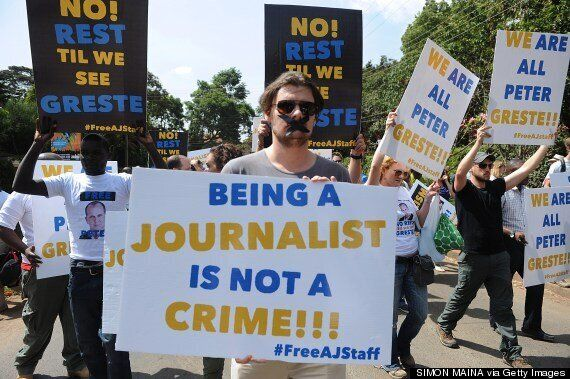 #FreeAJStaff: Journalists Start Viral Campaign To Free Al Jazeera Reporters In