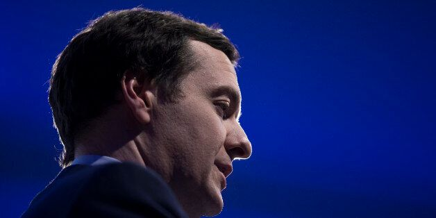 LONDON, ENGLAND - FEBRUARY 04: George Osborne, the Chancellor of the Exchequer, addresses an audience...