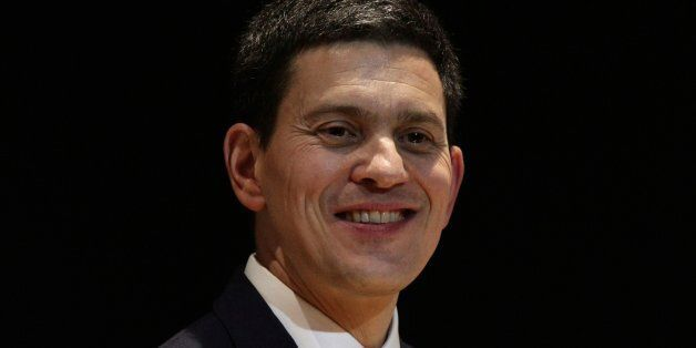 David Miliband presenting his Kennedy Memorial Trust lecture, entitled 'America, Britain & Europe: Lessons...