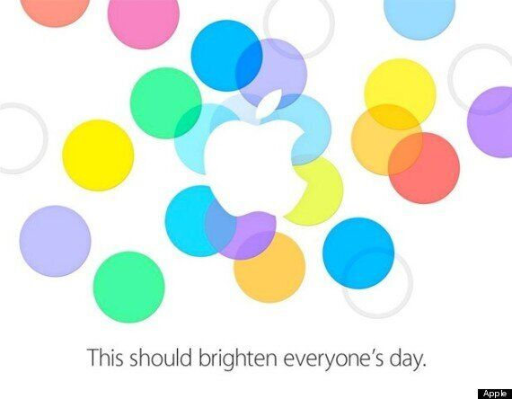 Apple Announces September 10 iPhone Event: 5S, 5C And More