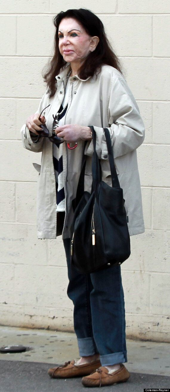 Jackie Stallone, 92, Shows Off The Effects Of Her Cosmetic Surgery During A Trip To The