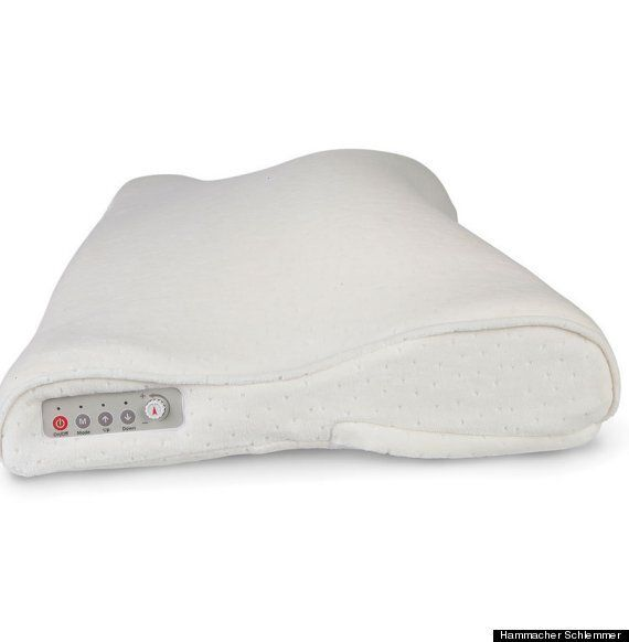 Snore Activated Nudging Pillow Prompts A Snoring Sleeper To Roll