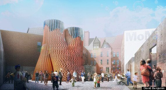Self-Assembling Fungus Tower By David Benjamin Will Grow In New York This