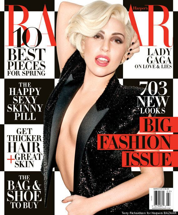 Lady Gaga Opens Up About Depression Battle In New Harper's Bazaar