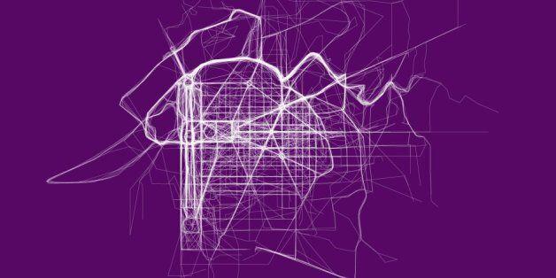 Digital Artist Maps Where People Like To Run