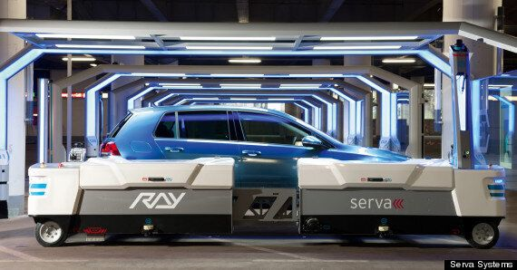 This Robot Valet Will Park Your