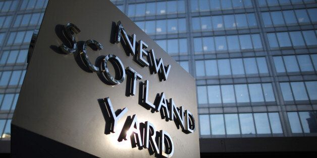 LONDON, ENGLAND - OCTOBER 24: Scotland Yard - headquarters of the Metropolitan Police on October 24,...
