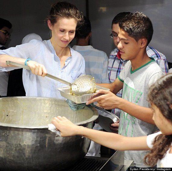 Asma Al-Assad, Syrian President Bashar's Wife Uses Instagram To Showcase Charity Work