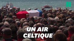 Pourquoi les cercueils des sauveteurs ont quitté les Sables-d'Olonne au son de