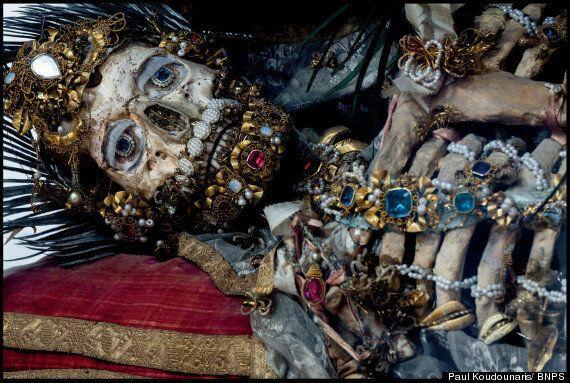 Catacomb 'Saints', Jewel-Encrusted Skeletons Photographed By Paul Koudounaris