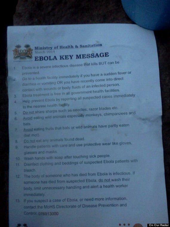 Ebola Outbreak Provokes Shift in Attitudes Towards Health Care and Burial Rituals in Sierra