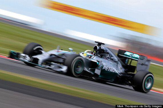 British Grand Prix: Lewis Hamilton Tops Friday Practice