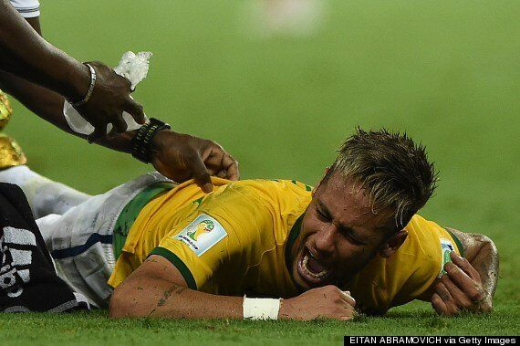 Neymar Fractures Vertebra And Out Of World