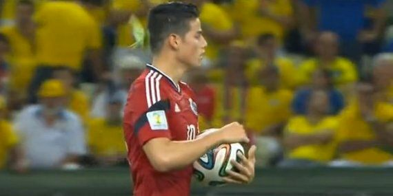 James Rodríguez: Grasshopper Clings Onto Colombia