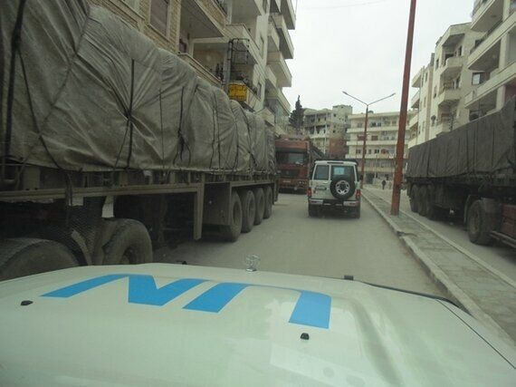 Thousands Benefit in Areha and Muhambel, Syria, as UN Supply Convoy Reaches Families in Areas Ravaged...