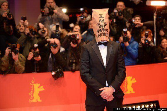Shia LaBeouf Wears Paper Bag On Red Carpet After Storming Out Of 'Nymphomaniac' Press