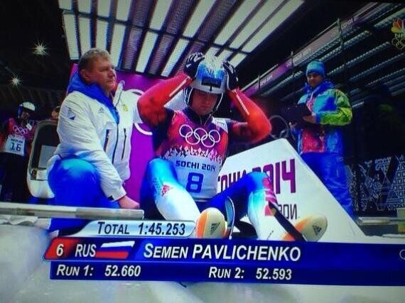 Sochi 2014 Winter Olympics: Andreas Wank And Semen Pavlichenko Prompt Schoolboy