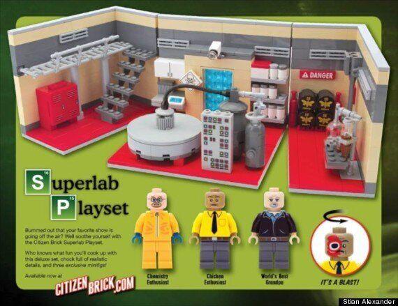 'Breaking Bad' Meth Lab Toy... Lego It Ain't