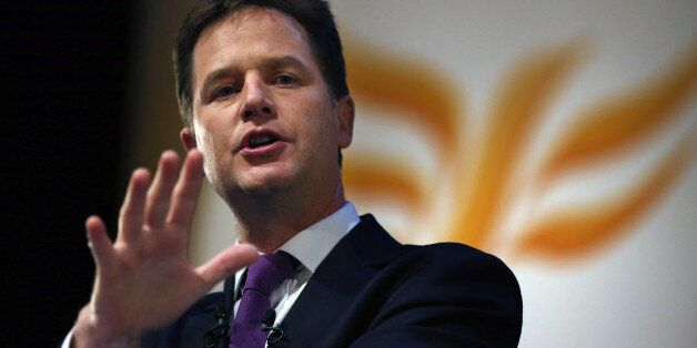 File photo dated 18/09/13 of Liberal Democrat leader Nick Clegg who has said the use of mass surveillance...