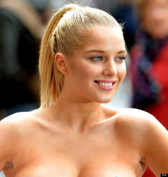 Helen Flanagan Topless In First Page 3 Shoot For The Sun  Huffpost Uk-9882
