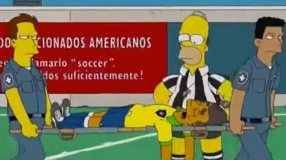 World Cup 2014: The Simpsons 'Predicted' Neymar's
