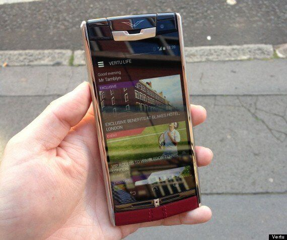 Vertu Signature Touch Review: The Phone That'll Grant Any