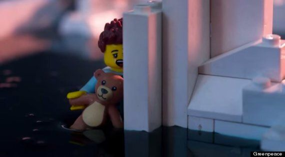 The Greenpeace Lego Oil Movie Is The Most Upsetting Thing Made With Lego
