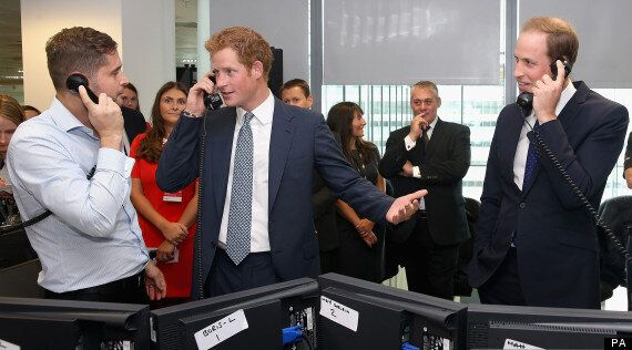 Prince William And Harry Become Stockbrokers To Raise 9/11