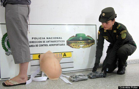 Woman Uses Fake Baby Bump To Smuggle Cocaine In Colombia