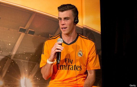 Gareth Bale Attends Real Madrid Third Kit Launch