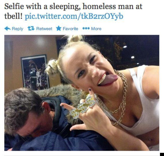 Selfies With Homeless People Is A New Vile